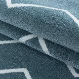 Modern vloerkleed Riant blauw 4602_