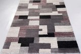 Allover vloerkleed Easy Grijs Purple 689_