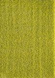 Groen hoogpolig vloerkleed of karpet Seram 1300_