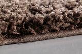 Vloerkleed hoogpolig bruin  Adriana Shaggy  1500/AY Bruin_
