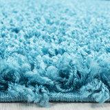 Turquoise blauwe vloerkleden Adriana Shaggy  1500/AY Turquoise_
