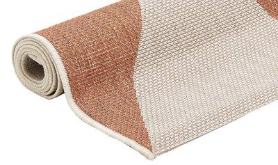 Ronde Vloerkleed Goedkoop : Goedkoop vloerkleed laagpolig roest rood voordelig geruite