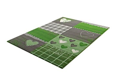 Vloerkleden voor de kinderkamer Adi 2105 Groen