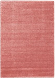 Effen vloerkleed Paris 674 Roze