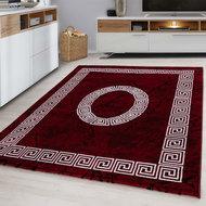 Modern-vloerkleed-Galant-8009-kleur-Rood