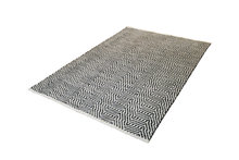 Handgemaakt-katoen-grijs-vloerkleed-Retif-410